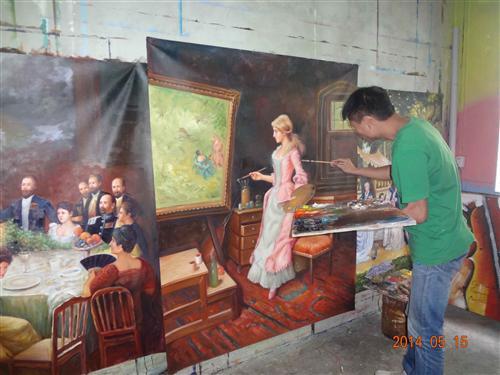 手绘墙画(15张)当涂鸦风靡全球