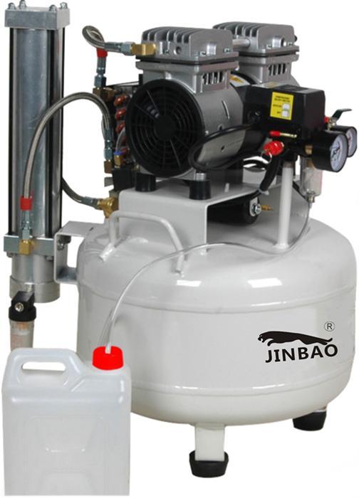 JINBAO静音无油空压机的历史