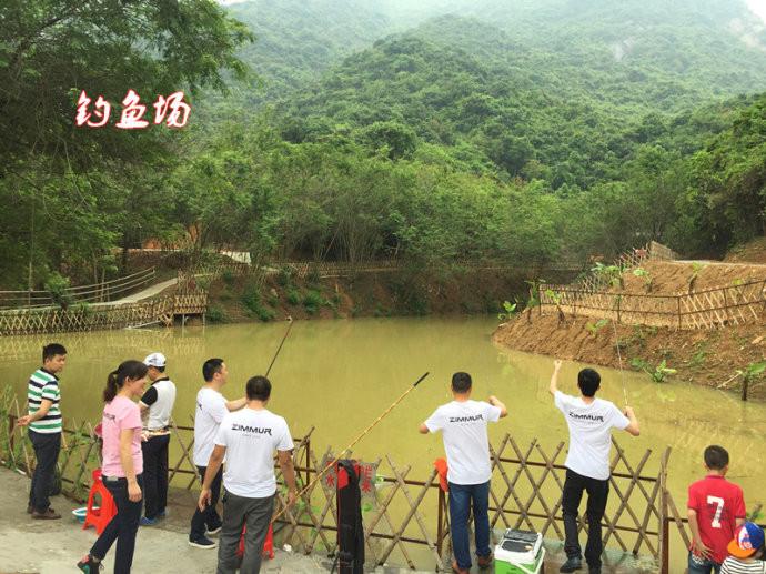 深圳老虎沟生态农家乐溪谷野炊庄园