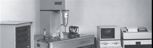 蔡司公司制作出世界上第一台CNC三座标测量机UMM500
