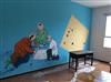 手绘墙的起源和发展