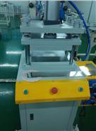 鋼片熱壓貼膜機使用現場