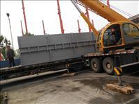 重型設備卸車搬運