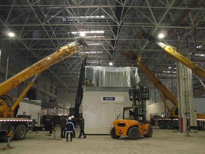 精密汽车设备吊装搬运定位