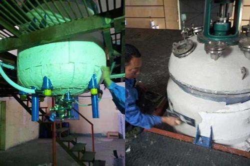 New technology of heat preservation and heat insulation of tank