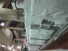 The central air conditioning heat preservation and heat insulation engineering