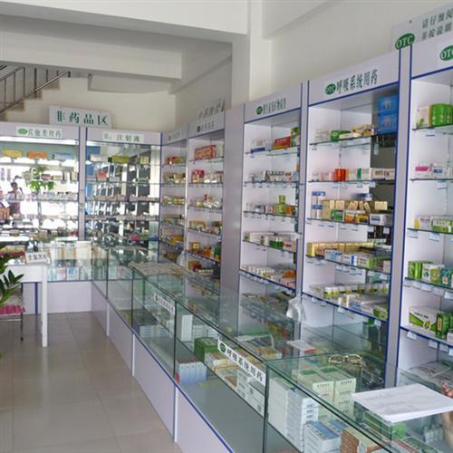 四川药店货架