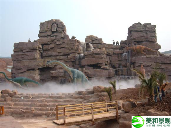 大型塑石假山案例圖