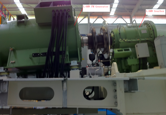 MW PM Generator