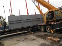 重型设备卸车搬运