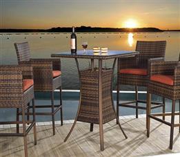 海边座椅-纯藤制午休躺椅,款式简单