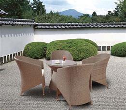 户外躺椅座椅-纯藤制午休躺椅,款式简单