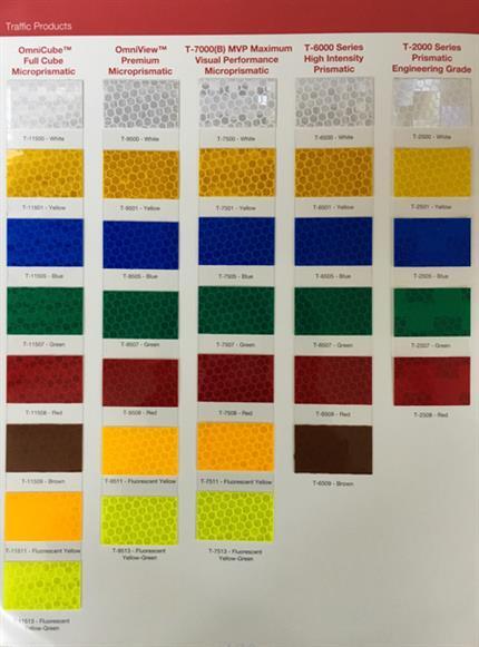艾利 工程级反光膜T2501高级膜 48