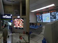 江门市中国电信局监控室与演示区