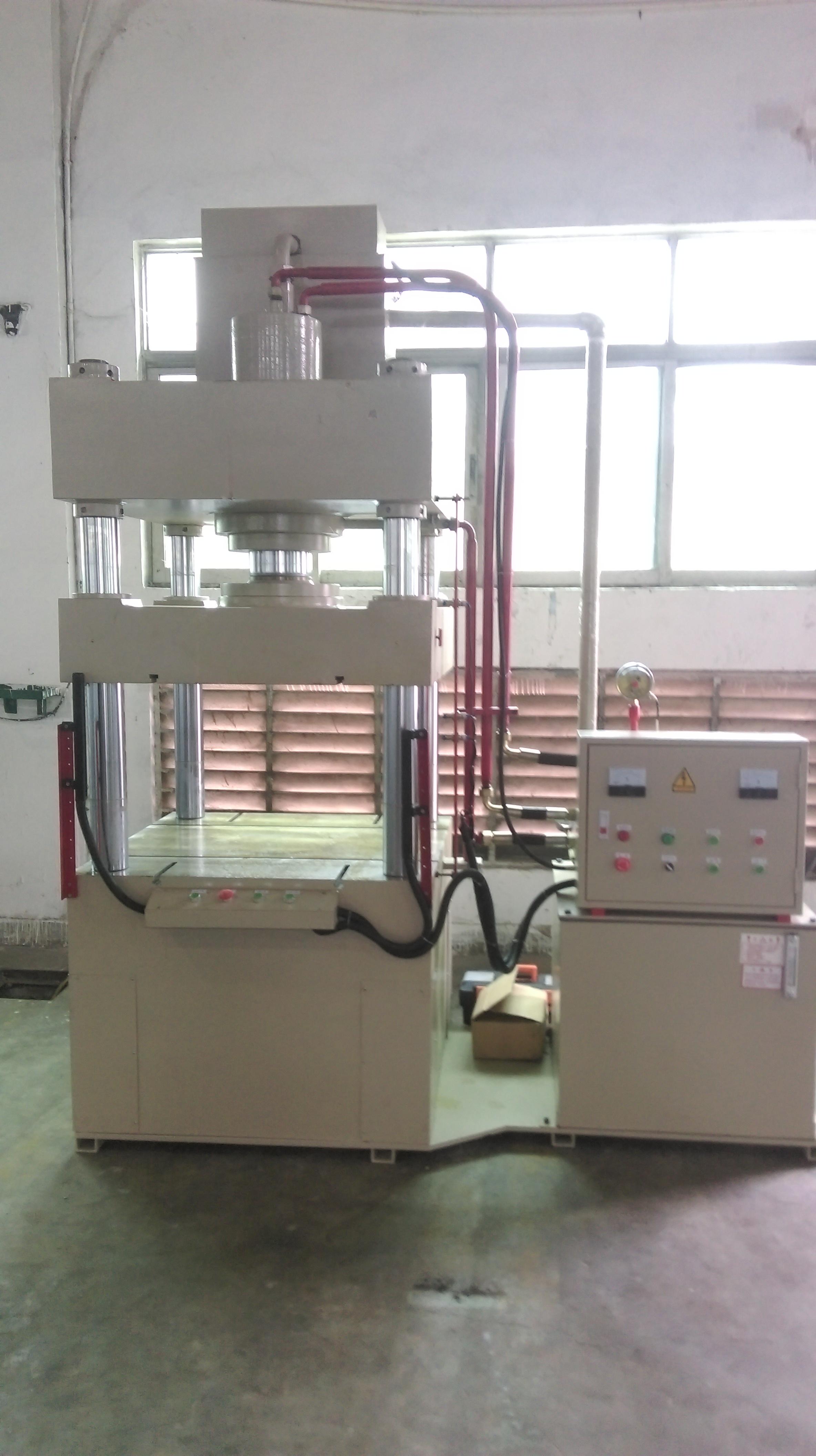 100吨液压冲床|上油缸液压机|立式油压机