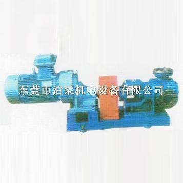 高粘度齿轮泵工作原理及结构