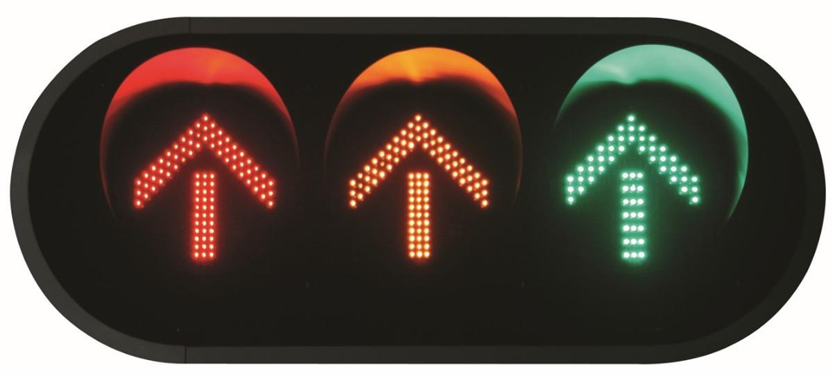 模拟交通信号灯电路图