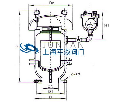 复合式高速排气阀FGP4X