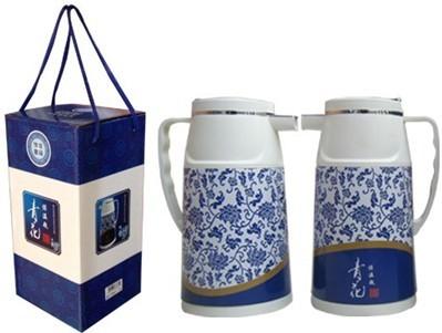 青花瓷保温瓶