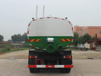 重汽22方国五污泥自卸车2
