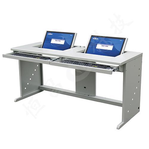 双人翻转式学生电脑桌,海仕杰 DNZ-5300