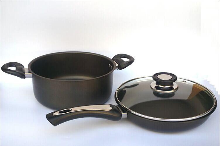盛诺精铁厨房二件套锅具