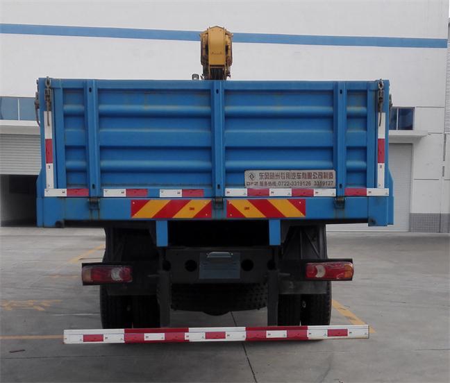 东风前四后四10吨随车起重运输车 12吨随车吊1