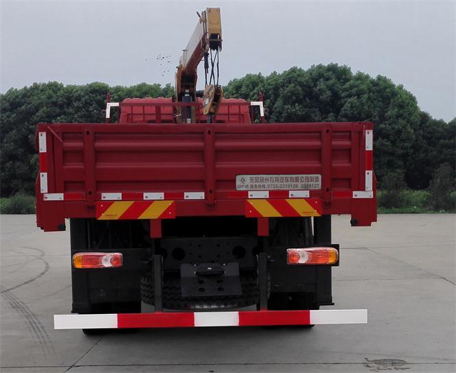东风153随车起重运输车 东风6吨8吨随车吊1