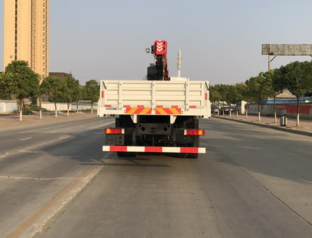 东风天锦10吨随车起重运输车 12吨随车吊1