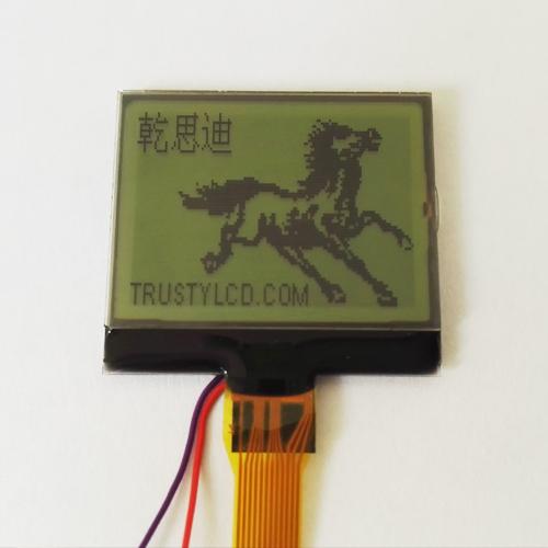 T12864C033A无背光显示