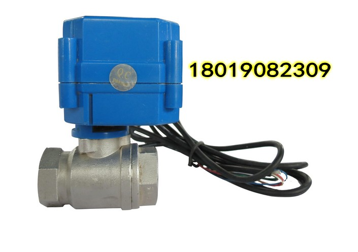 cr01微型电动球阀接线图