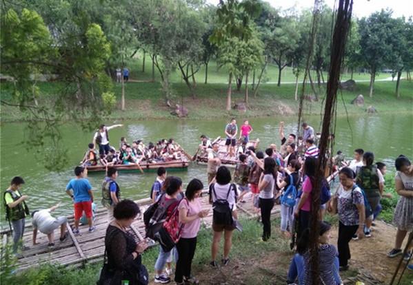 东莞松湖生态园亲子游