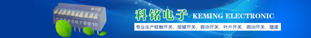 科铭中国南部最大微型开关专业生产厂家