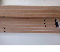 纹路细腻的特制环保型中密度板I