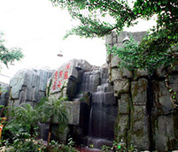生態園假山設計