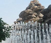 假山喷水池设计