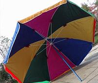 嘉鸿较普通结实的太阳伞产品
