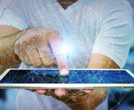 """秉承""""科技发展未来,客户始终至上""""的经营理念,坚持科技与应用相结合"""