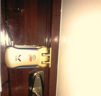 家用遥控锁安装图