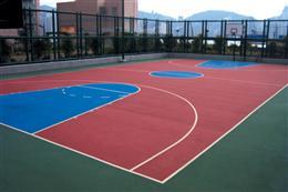 篮球场铺设解决方案