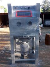 河南箱式环保喷砂机