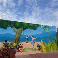 城市社区文化墙