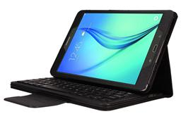 Samsung TABA 10.1 T550 / T551 Litchi Pattern Bluetooth Keyboard case-SA1055