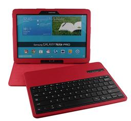 Samsung P900 Litchi Pattern Bluetooth Keyboard case-SA109