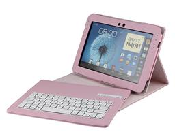 For Samsung N8000 Bluetooth Keyboard  note10.1 slim stand PU leather  case SA101