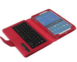 Samsung Galaxy Tab Pro T320 Litchi Pattern Bluetooth Keyboard case-SA02