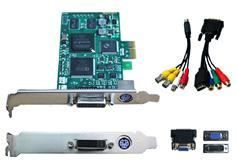 video card/video capture card/dvr video card supports 1CH DVI + 2CH CVBS input TC-2102A