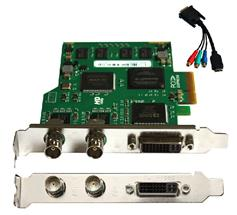 video card/video capture card/dvr video card with 1CH DVI + 2CH SDI  input support taped TC-2102HD