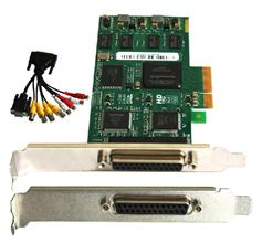 1CH VGA+4CH CVBS video card/video capture card/dvr video card support Recording System TC-104A