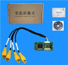 4CH SD video card/video capture card/dvr video card support Streaming&live&conference MINI 400sd